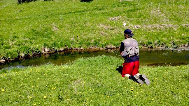 fly fishing creeks